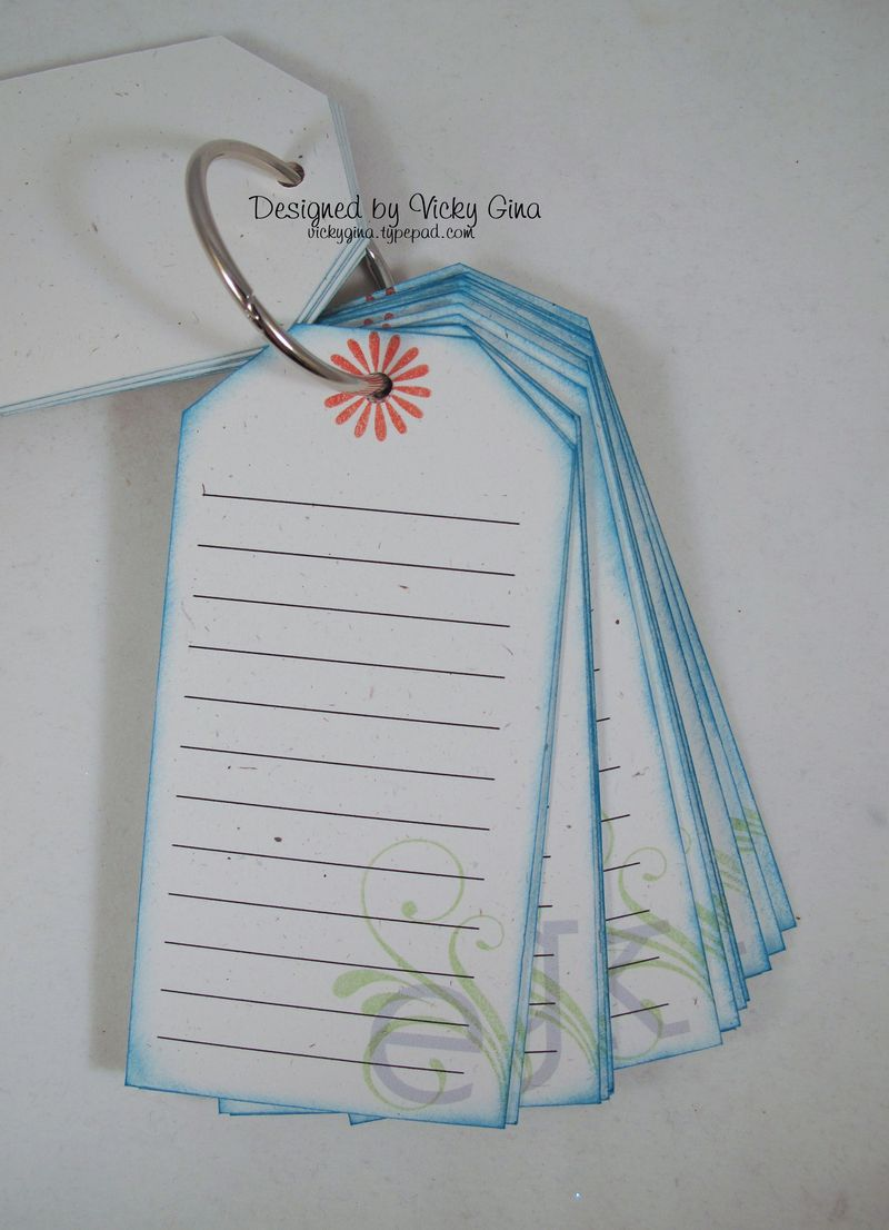 Tag Book - Inside