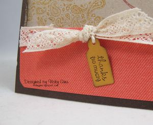 Fall Card - detail