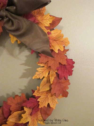 Autumn Wreath - Det