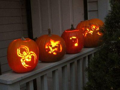CarvedPumpkins1